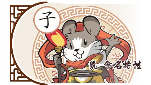 鼠-命名特性