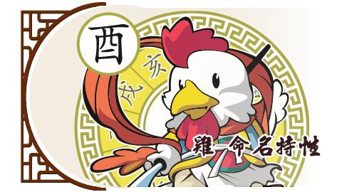 雞-命名特性