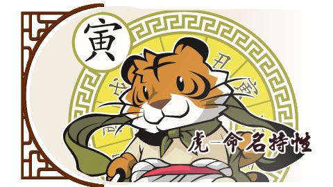 虎-命名特性